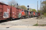 CN 2258, CN 2154, IC 9636 - Canadian National & Illinois Central